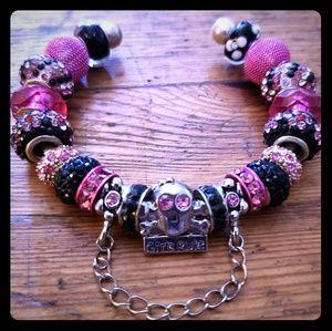 Girl Power Charm Bracelet